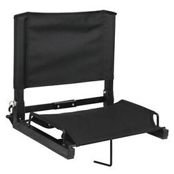 Stadium Seat Chairs With Backs and Cushion Folding Portable
