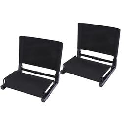 Stadium Seats Ohuhu Bleacher Chairs Seat W Backs & Cushion F