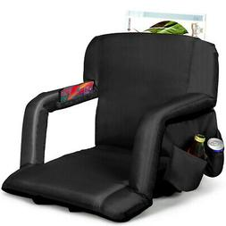 Stadium Seats For Bleachers With Back Support Padded Cushion
