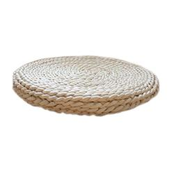 Blancho Bedding Straw Cushion Chair Pad Indoor/Outdoor Round