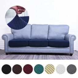 Stretchy Couch Seat Cushion Cover Sofa Loveseat Slipcover Fu