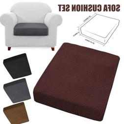 US Stretchy Sofa Seat Cover Cushion Couch Slipcovers Protect