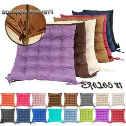 Jusefu Suede Candy Colored Square Car and Chair Cushion / Pa