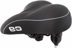 Sunlite Cloud-9 Bicycle Suspension Cruiser Saddle, Cruiser G