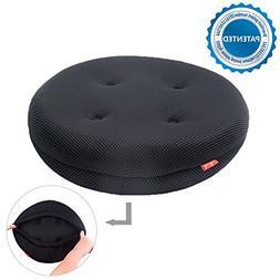 baibu Super Breathable Round Bar Stool Cover Seat Cushion Bl