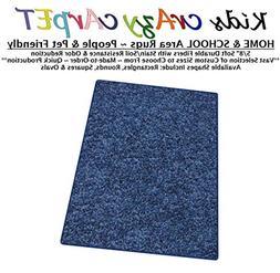9'x12' - Super Hero Blue ~ Kids Crazy Carpet Home & School A