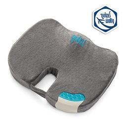 Tailbone Lumbar Support Memory Foam Seat Cushion, for Office