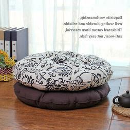 Tatami-Floor-Tatami-Seat-Cushion-Thickened-Cotton-Linen-Roun