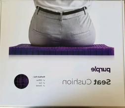 Purple The Seat Cushion - Car Office Chair Lumbar Support Co