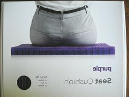 """The Purple Seat Cushion With Cover 18x16x1.25"""" lumbar suppor"""