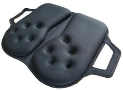 Tektrum THICK Foldable Orthopedic Cool Gel Seat Cushion with