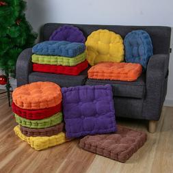 40cm Thicken Mat Corduroy Car Seat Pad Sofa Pillow Chair Cus