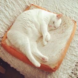 Toast Bread Cat <font><b>Pillow</b></font> Dog Pet Supplies