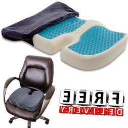 Truck Driver Seat Cushion Memory Foam Pain Relief Large Pill
