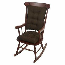 Klear Vu Twillo Overstuffed Rocking Chair Pad Set, Seat and
