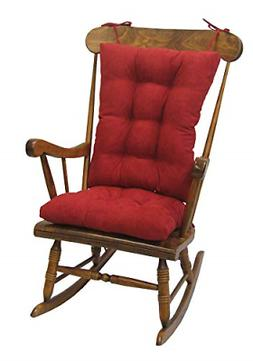 Klear Vu Twillo Overstuffed Rocking Chair Set, Seat and Seat