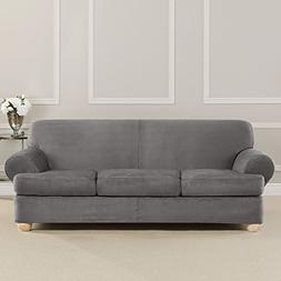 Sure Fit Ultimate Heavyweight Stretch Suede Slipcover