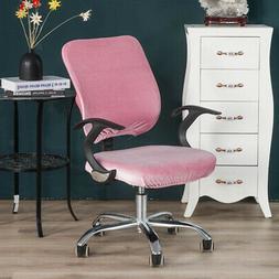 Universal Soft Velvet Stretch Wedding Dining Room Chair Seat