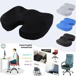 US Coccyx Orthopedic Memory Foam Gel Seat Cushion Pillow Car