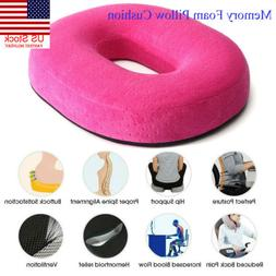 US Coccyx Orthopedic Memory Foam Seat Cushion Car Office Sea