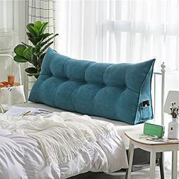 VERCART Velvet Sofa Bed Large Soft Upholstered Headboard Fil