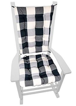 Barnett Products Vignette Buffalo Check Black & White XL Roc