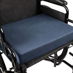 "DMI POLYFOAM WHEELCHAIR CUSHION - NAVY - 3"" X  16"" X 18"""