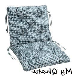 IKEA Ytteron Seat/Back Cushion Pad Outdoor Blue White 003.14