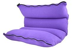 Yogibo Zipparoll, Medium, Bright Purple